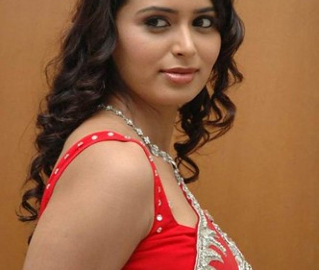 Hot Indian Woman In Red Saree