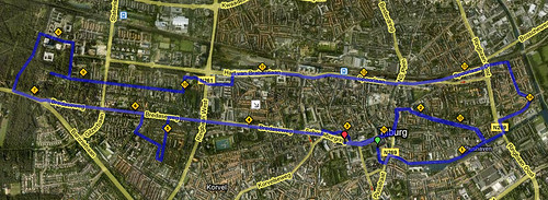 Parcours Tilburg Ten Miles