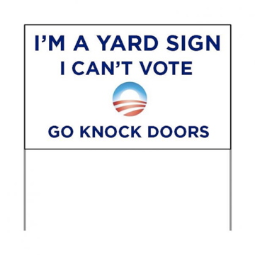 Signs Don't Vote