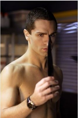 Sam Witwer Shirtless