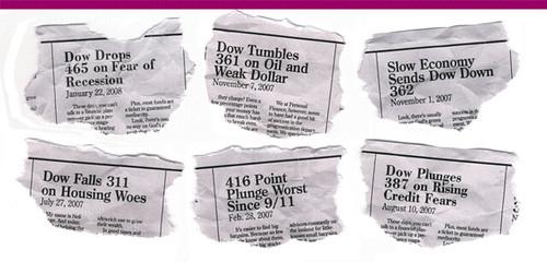 market crash clippings