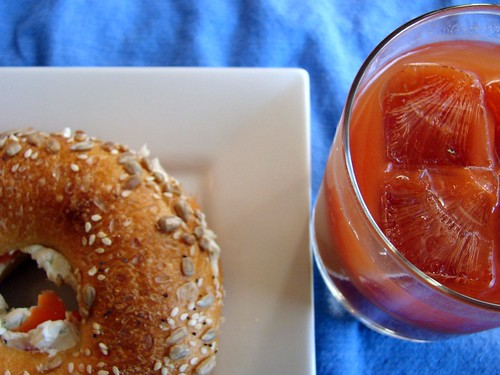 bagels + bloodies