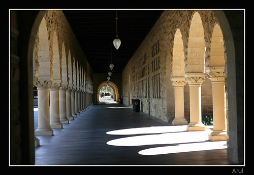 Hallways of Stanford University (by Arul Jegadish)