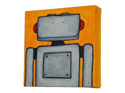 rex robot - side
