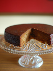 Gingerbread and Pear Cake