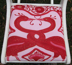 Seat cushion detail