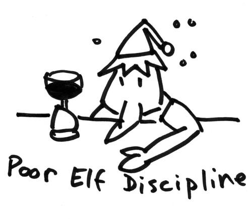 Poor Elf Discipline