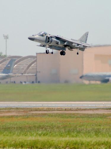 AV-8B Harrier II Vertical Landing