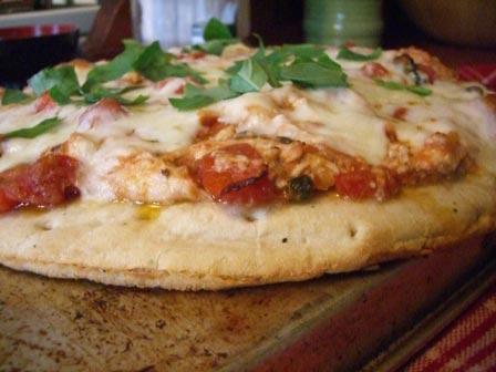 Chicken Cacciatore Pizza