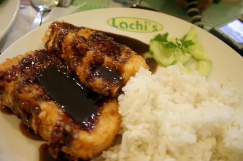 Breaded Tofu at Lachi's