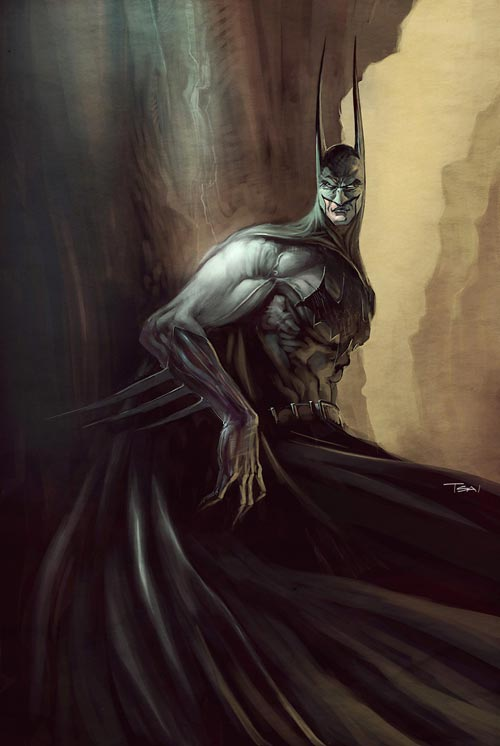 Batman by Francis Tsai