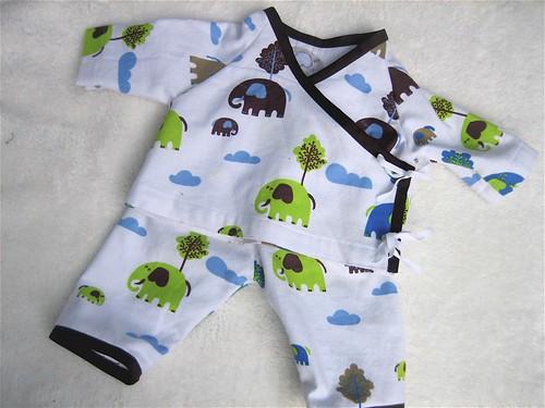 Infant Kimono Outfit