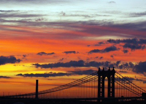 sunrise in the city by Tattooed JJ