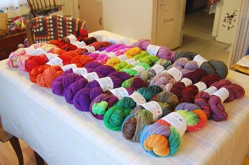 Yarn for Craft Show