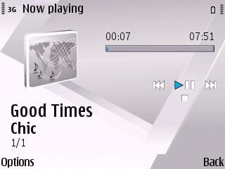 Nokia Music Player