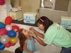 Campanha de vacinação contra a pólio 2009