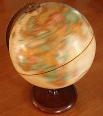 Spinning Globe Classroom Explorer