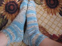 Good sock, bad sock