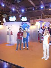 Yo en la Games Convention 2008
