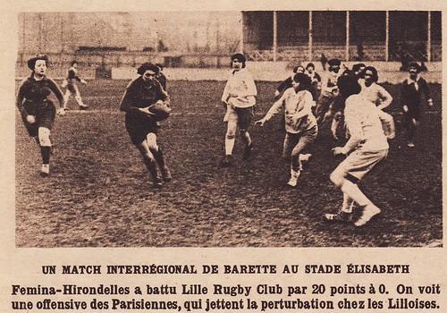 Hirondelles v Lille 1924