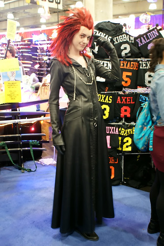 One of the fashion exhibitor