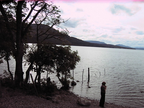 Ann at a Loch