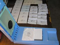 printing some fabric