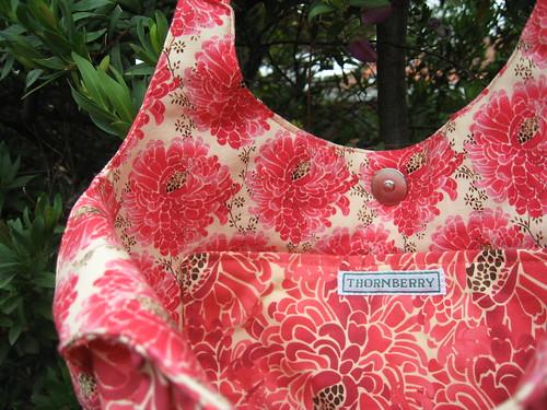 Mum's Christmas bag - interior by you.