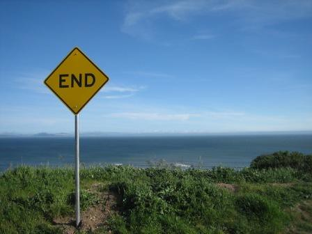 The End, Bolinas, CA by DRheins