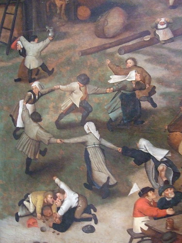 Detail of a Bruegel Painting
