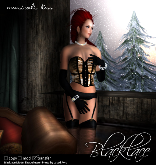 Blacklace's Minstral's Kiss