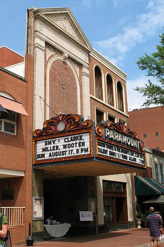 Paramount Theater Facade