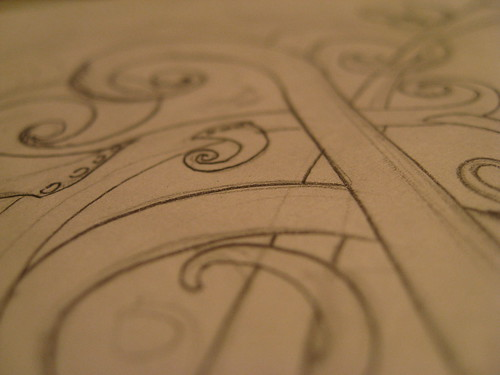 Wild & Thorny Sketch