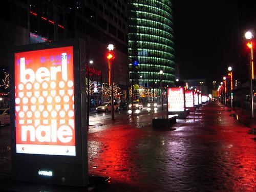 Berlinale posters at Potsdamer-Platz.