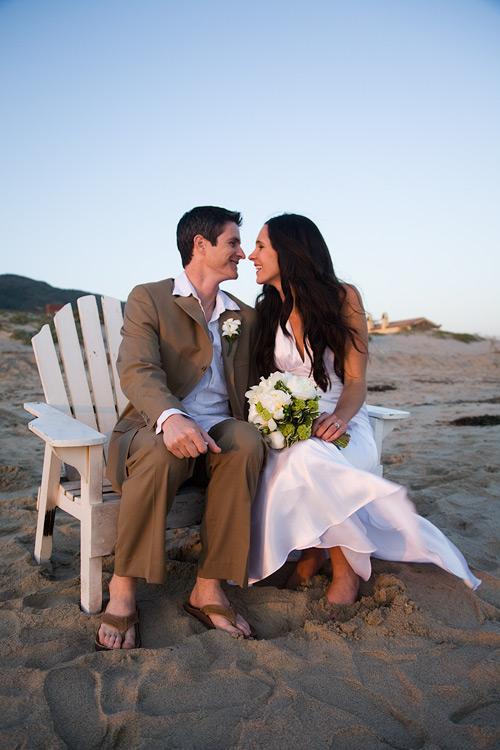 On The Beach [a wedding]