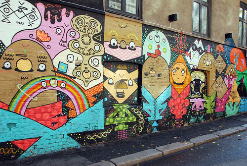 Graffiti in Oslo