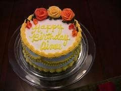 Aimee's Birthday Cake 2008