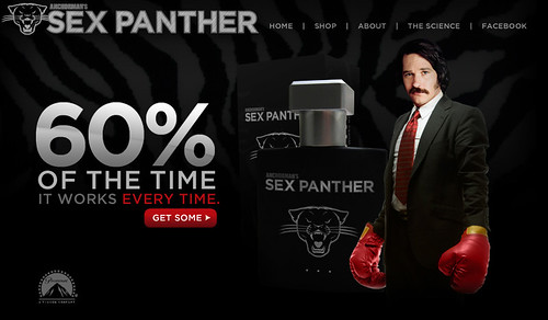 Sex Panther Anchorman Cologne by bodeh6