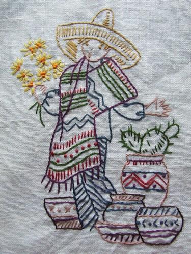 mexican boy towel