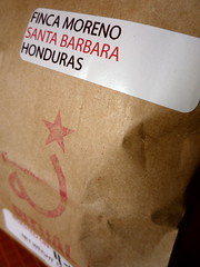 Finca Moreno, Santa Barbara, Honduras From Mr. Ford at Ritual - 2