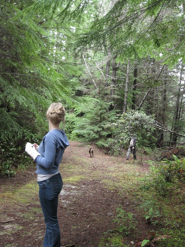 Hanna mushroom hunting