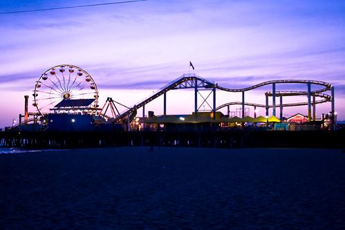 Santa Monica Pier (124/366)