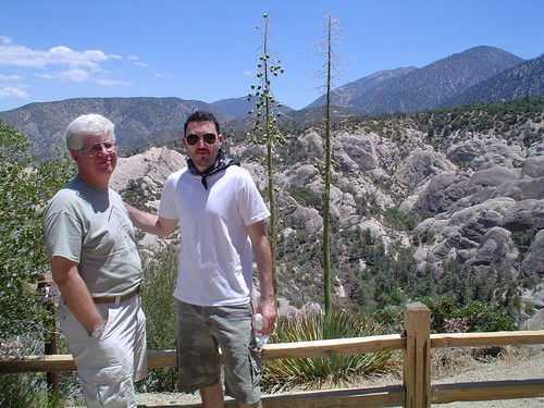 Jere and Sean at Devil\'s Punchbowl