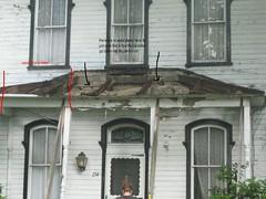 front porch with description