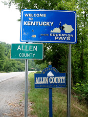 Welcome to Kentucky (Where Education Pays)