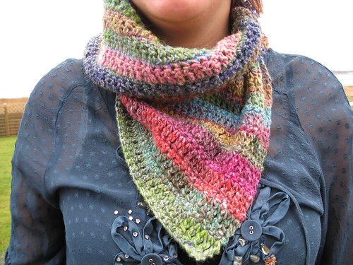 Oooh, a Noro neck wrap!  :D