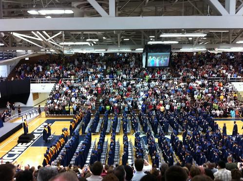 Raven's graduation ceremony
