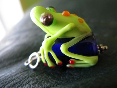 Talie the frog...
