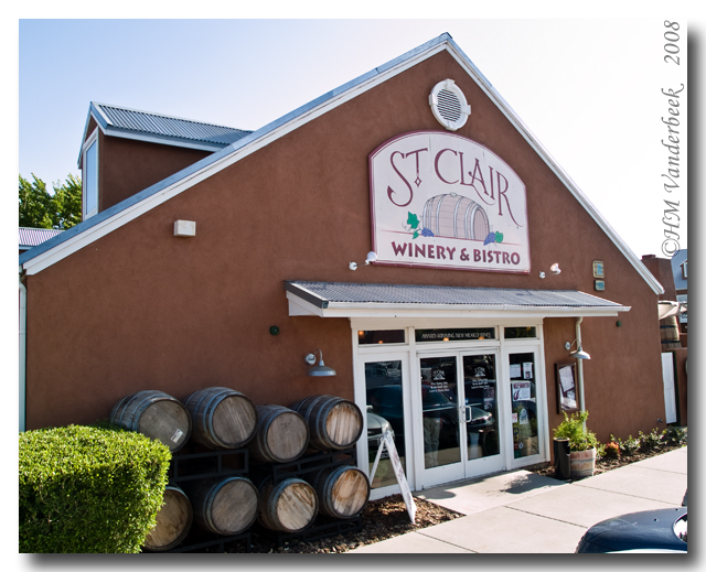 St. Clair Winery and Bistro