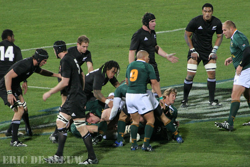NZ All Blacks vs SA Springbok